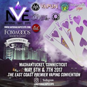National Vape Expo May 6th, 7th – Foxs Fog Factory
